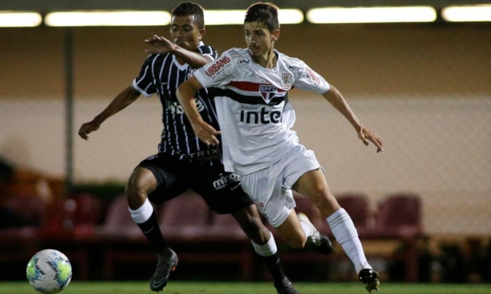 O Corinthians perdeu para o São Paulo no jogo anterior pelo Brasileiro Sub-20 (Miguel Schincariol/saopaulofc.net)