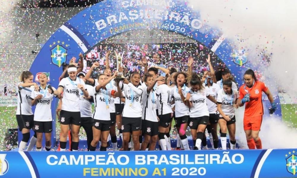 Audiência futebol feminino - Campeonato Brasileiro Feminino