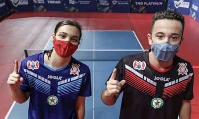 Giovana Grilo e Richard Pinheiro conquistam o Brasileiro de tênis de mesa