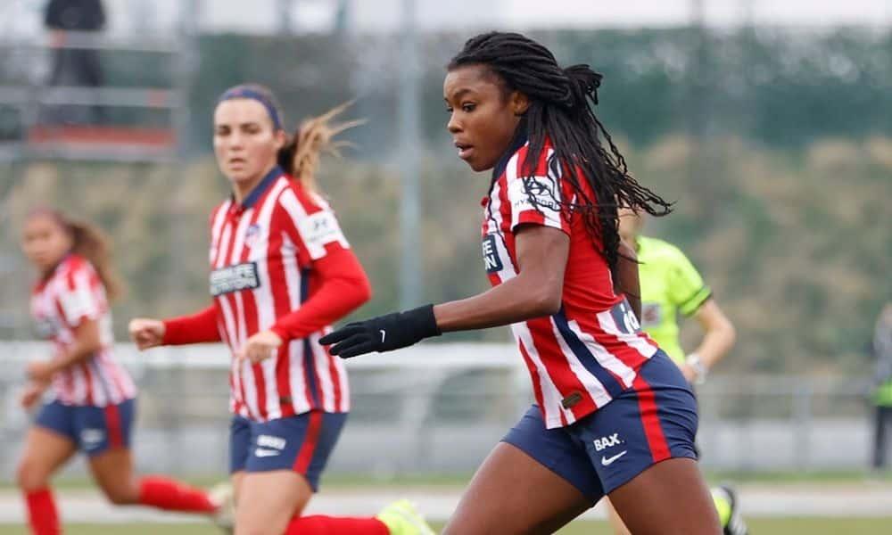Ludmila atlético de madrid - seleção brasileira de futebol feminino - Jogos Olímpicos de Tóquio 2020