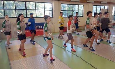 CBE organiza o período de treinos no Rio de Janeiro