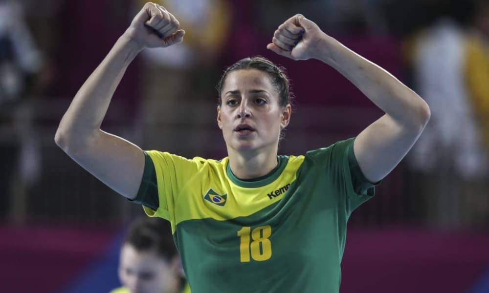 Duda Amorim, do handebol, completa a lista de esportistas brasileiros com destaque em 2020 (COB/Divulgação)