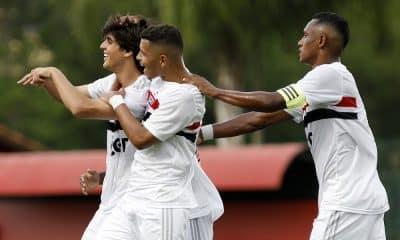 São Paulo vence no jogo de ida e tem vantagem nas oitavas