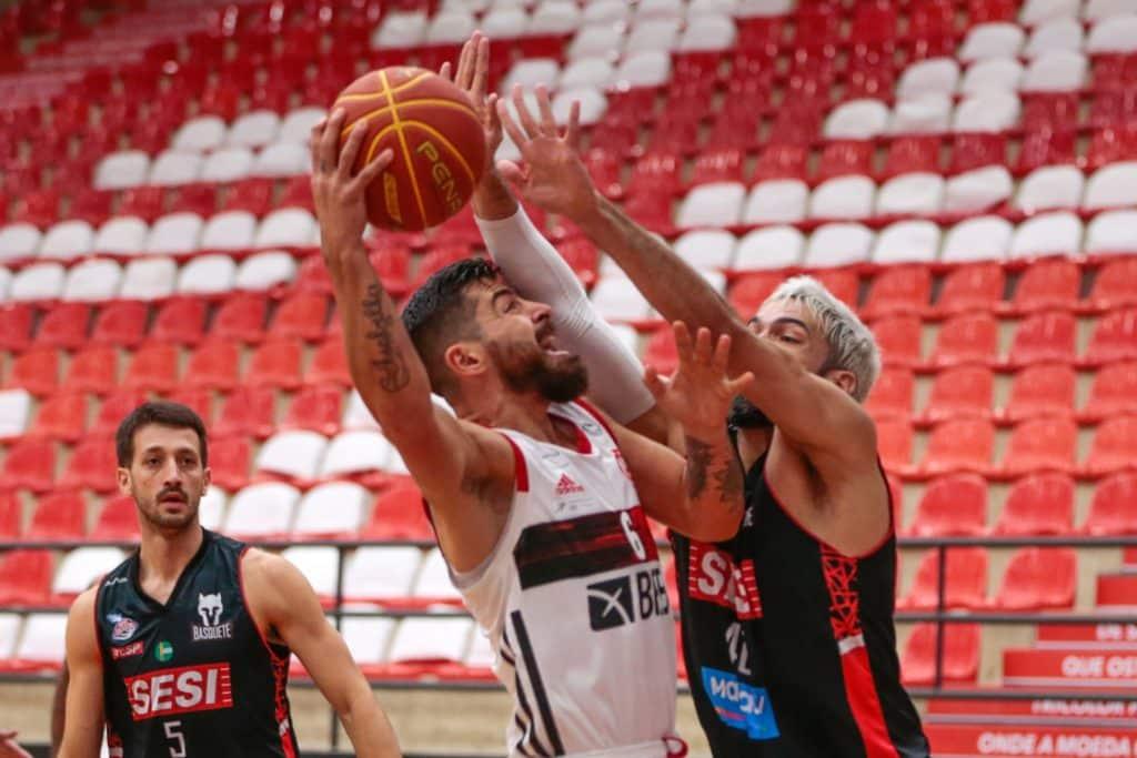 Flamengo e Franca NBB
