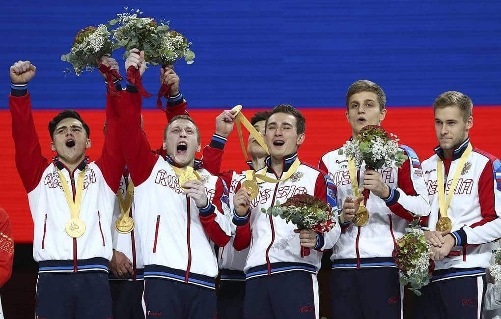 Campeã mundial em 2019, equipe masculina russa vai disputar o ouro com a China em Tóquio