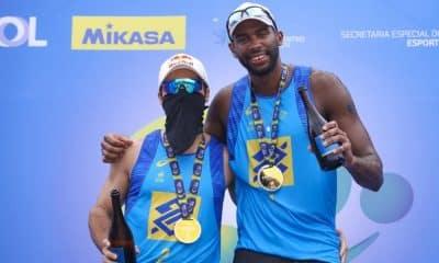 Evandro e Bruno Schmidt - André e George - Circuito Brasileiro de vôlei de praia
