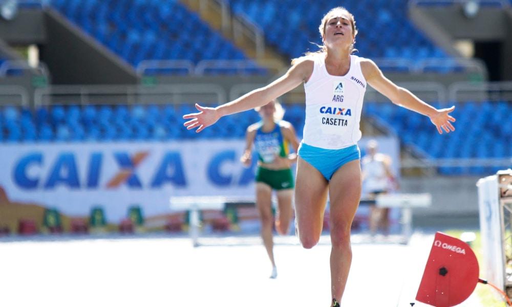 GP do Brasil de Atletismo - Darlan Romani - Rosangela Santos - Belén Casseta