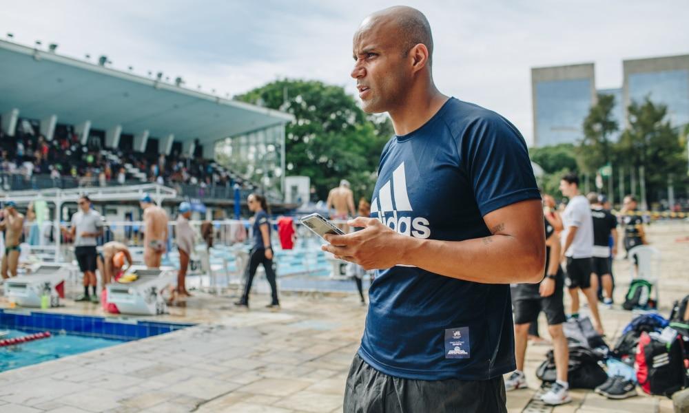 João Gomes Jr. também competirá nos 4x100 m medley (Igo Bione/Divulgação)
