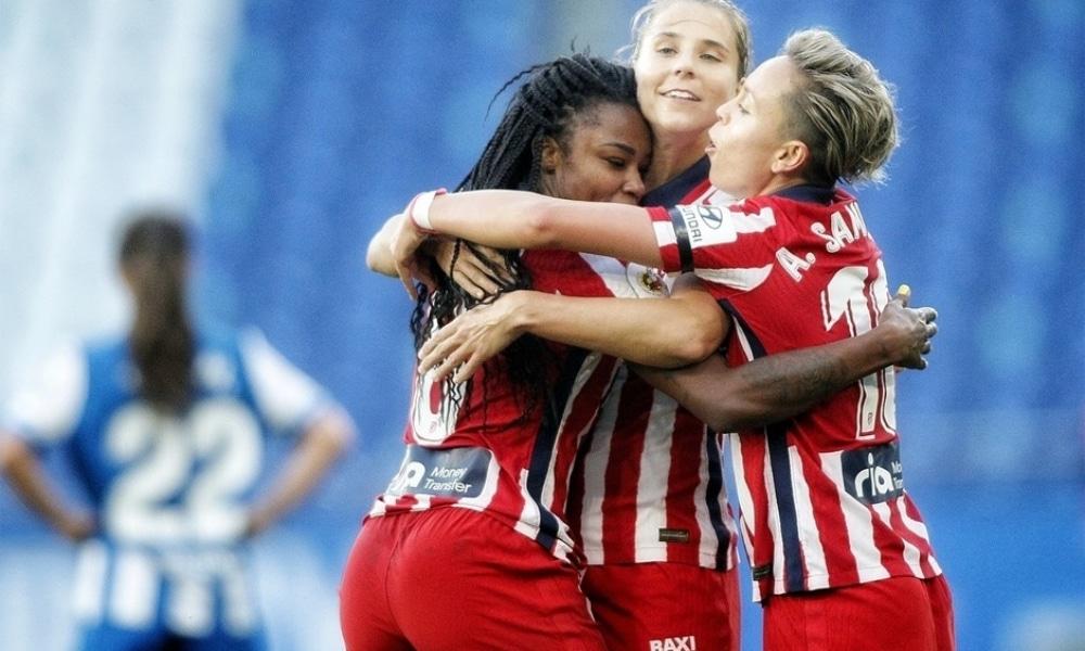 Ludmila - Atlético de Madrid - Champions League feminina