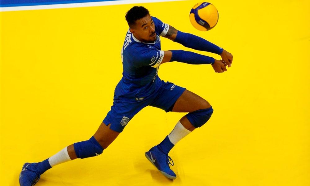 O líbero Maique, do Minas, espera um jogo difícil diante do Blumenau (Orlando Bento/MTC)