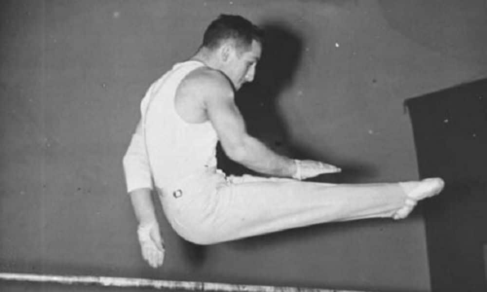 Michael Reusch barras paralelas jogos olímpicos