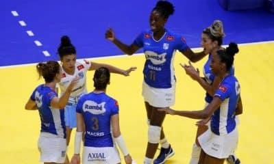 Sesi Bauru e Minas - Superliga Feminina