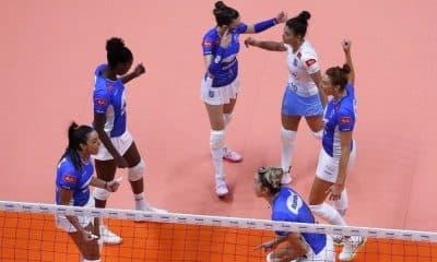 Praia e Minas - Praia Clube - Superliga Feminina