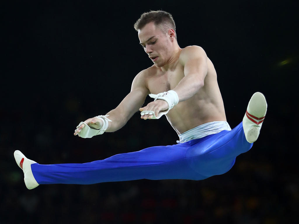Oleg Vernyayev barras paralelas jogos olímpicos tóquio 2020