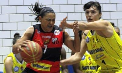 Santo André Ituano Paulista Basquete feminino