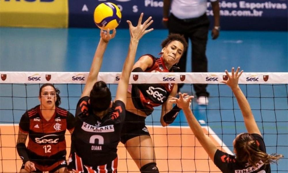 Curitiba e Sesc RJ Flamengo - Superliga Feminina