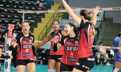 Sesi Vôlei Bauru vence São Caetano na abertura da 11ª rodada