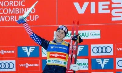 Tara Geraghty-Moats vence primeira etapa da Copa do Mundo de Combinado Nórdico