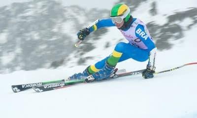 Valentino Caputi é o novo integrante da equipe de esqui alpino do Brasil