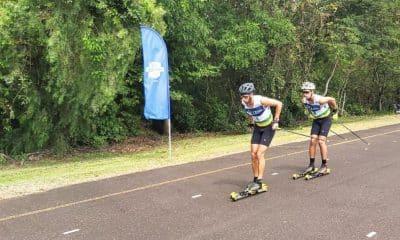 Victor Santos é o principal nome do Brasil no esqui cross country