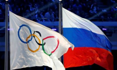 Rússia COI bandeiras