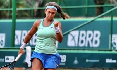 Carolina Meligeni Carol Meligeni tênis Copa BRB ITF do Cairo Egito