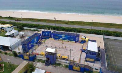 Centro de Desenvolvimento de Voleibol CDV saquarema sexta etapa circuito brasileiro de vôlei de praia
