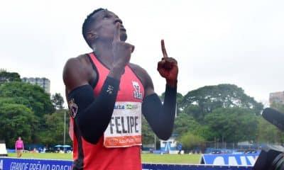 Felipe Bardi GP Brasil de atletismo 100 m