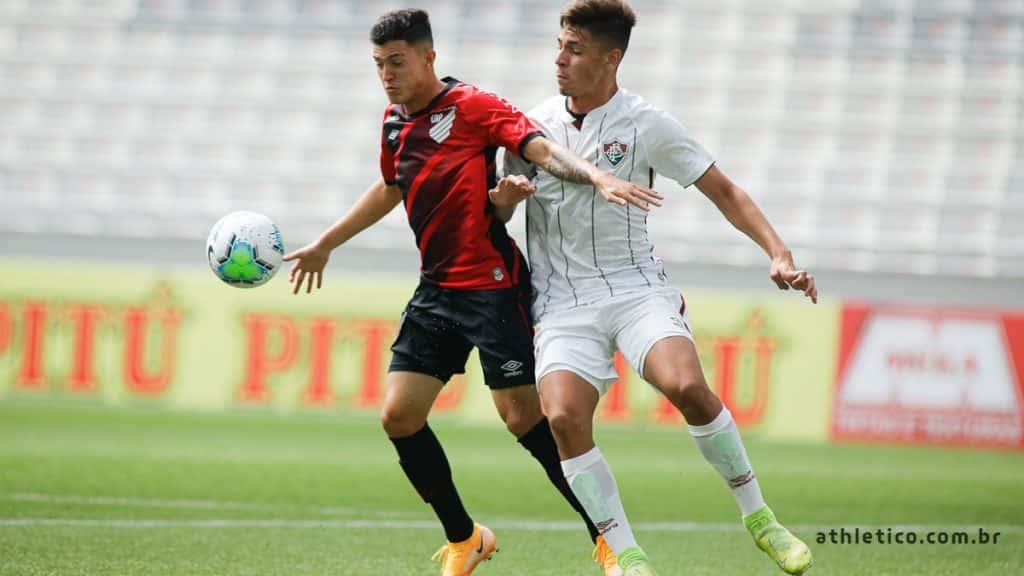 Fluminense Athlético-PR Final Campeonato Brasileiro sub-17 futebol masculino