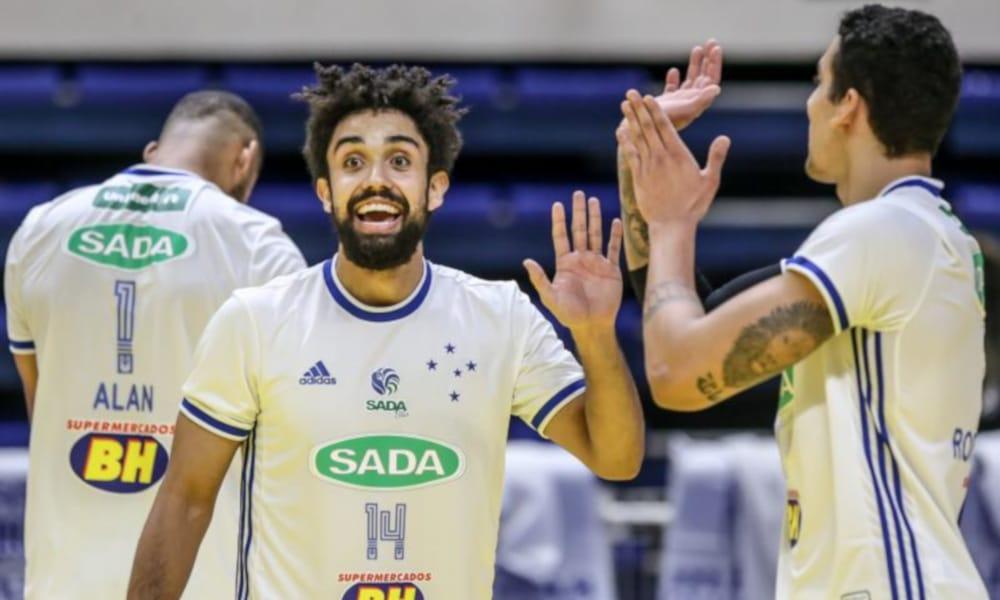 Sada Cruzeiro x Ribeirão - Superliga masculina Taubaté Campinas