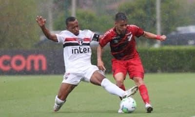 São Paulo e Athletico-PR Campeonato Brasileiro Sub-20