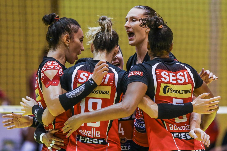 Ao vivo Sesi Vôlei Bauru x Flamengo - Superliga feminina praia clube