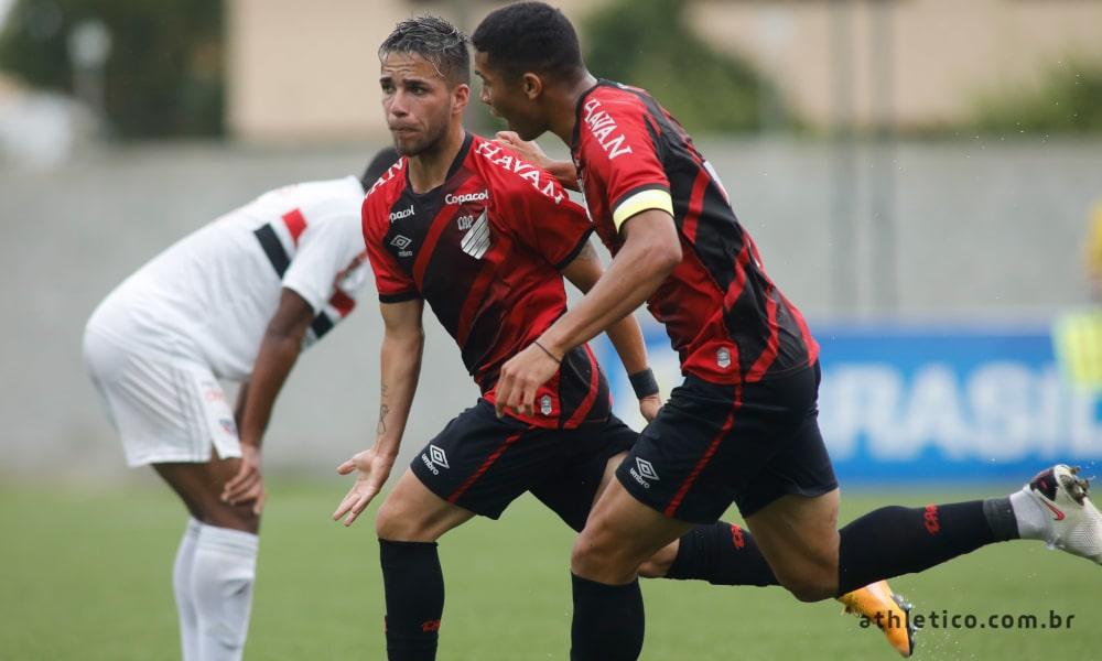 Athletico-PR x Palmeiras - Brasileiro Sub-20
