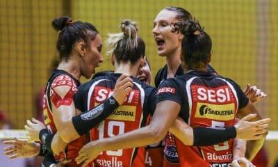 Sesi Vôlei Bauru e Fluminense - Superliga Feminina