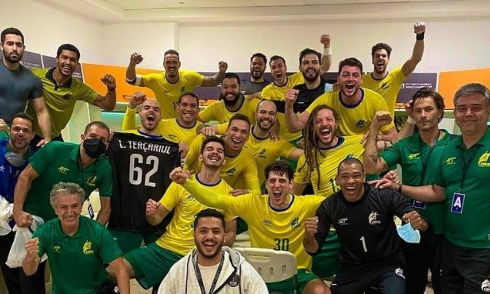 Brasil e Tunisía - Mundial de handebol