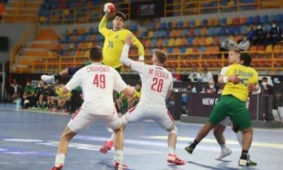 Brasil e Hungria - Mundial de Handebol