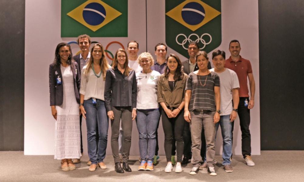 A Comissão de Atletas do COB, presidida por Tiago Camilo, emitiu uma nota se colocando ao lado de Carol Solberg (COB/Divulgação)
