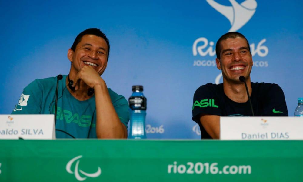As lendas da natação durante os Jogos Rio-2016 (Washington Alves/MPIX/CPB)