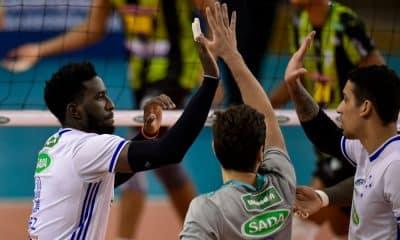 Sada Cruzeiro Montes Claros América Copa Brasil de vôlei masculino