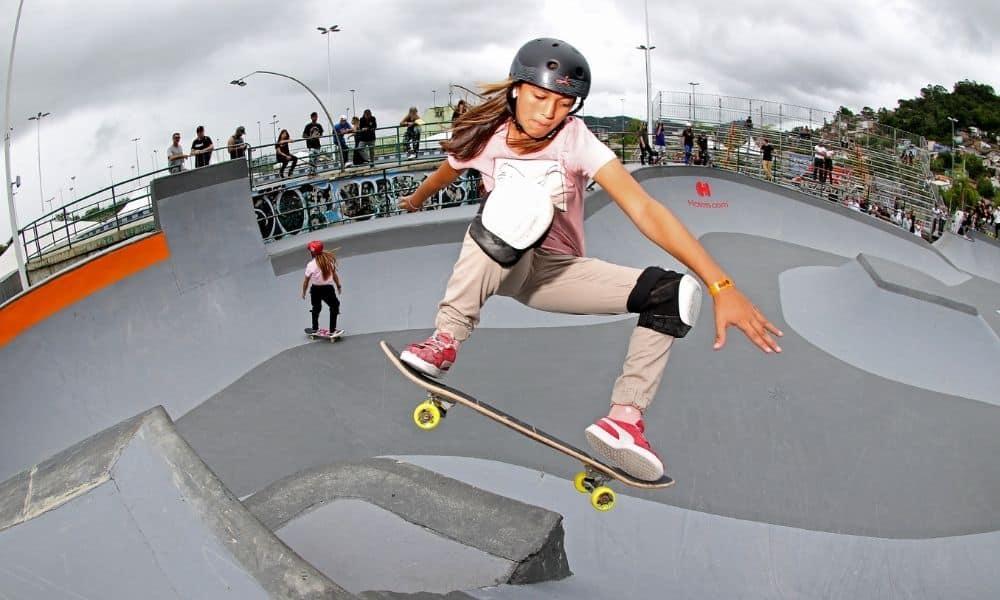 Isadora Pacheco skate park