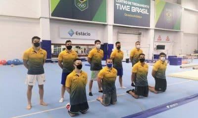 seleção masculina de ginástica artísitca