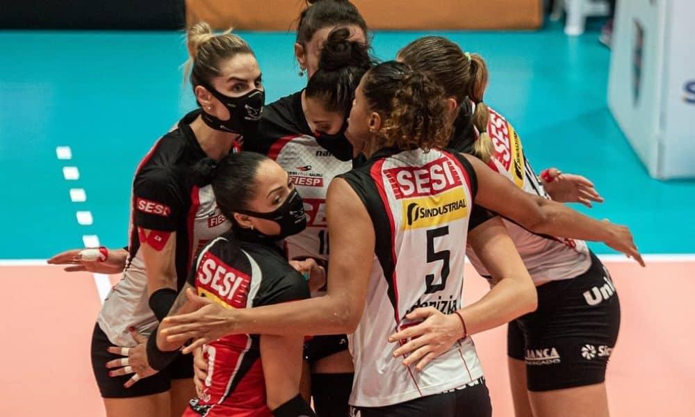 Flamengo x Sesi Bauru - Superliga feminina