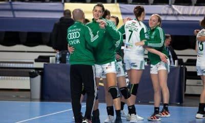 Duda Amorim Champions League de handebol feminino Gyori x Buducnost