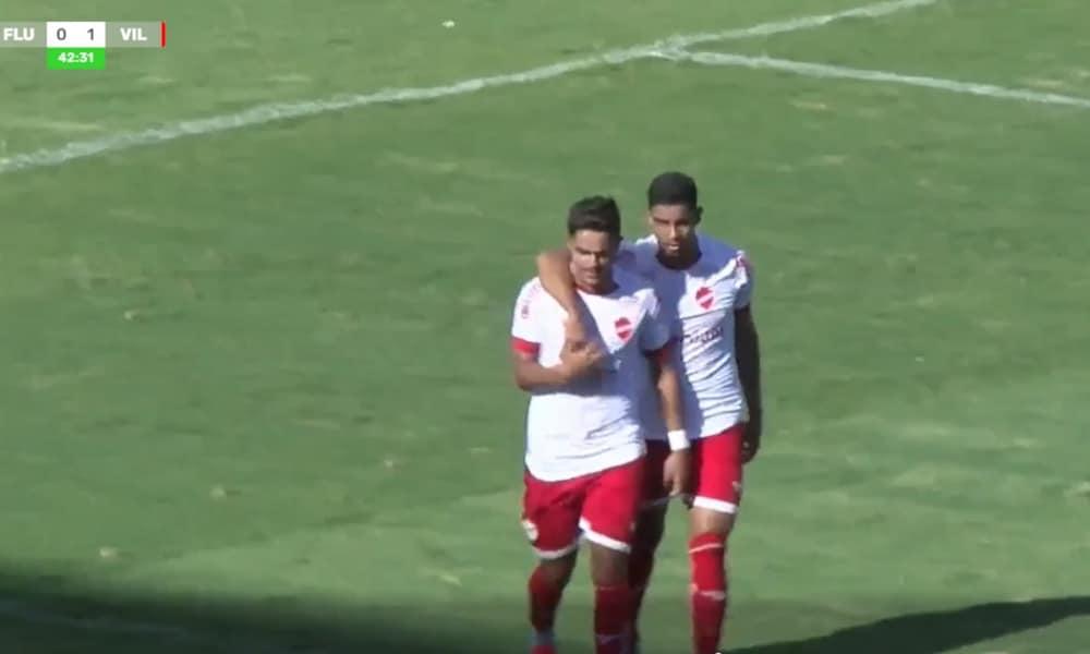 Vila Nova fez 1 a 0 em cobrança de pênalti (Reprodução/MyCujoo)