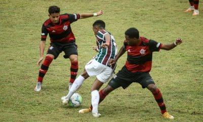 Flamengo e Fluminense - Semifinal da Copa do Brasil Sub-17