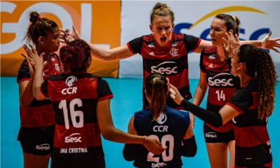 São Caetano e Sesc RJ Flamengo - Superliga Feminina