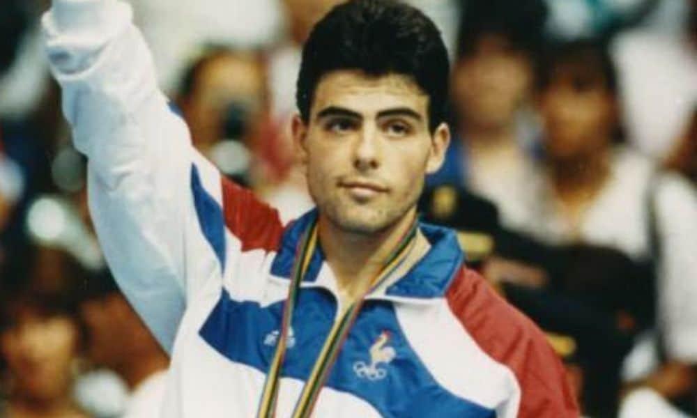 Mesatenista francês Jean-Philippe Gatien, prata em Barcelona-1992. E campeão mundial em 1993.