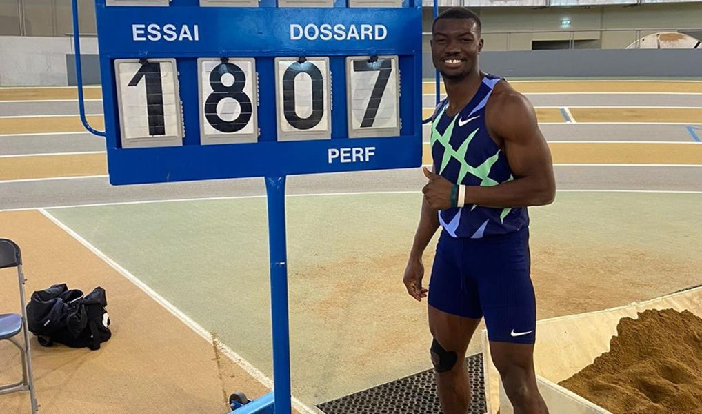 Hugues Fabrice Zango recorede mundial salto triplo
