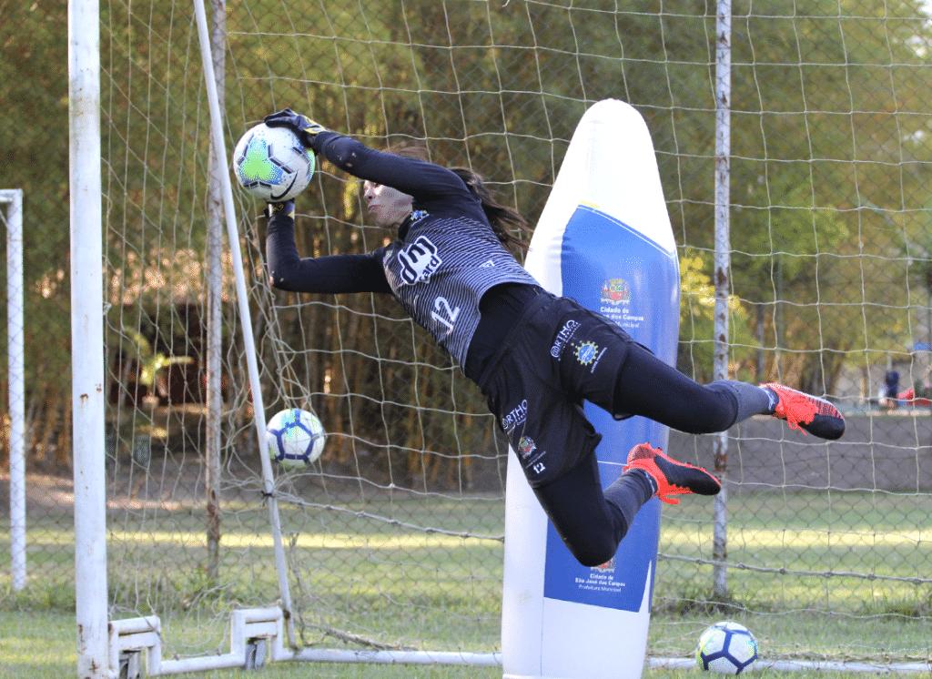 Jéssica renova com o São José para esta temporada