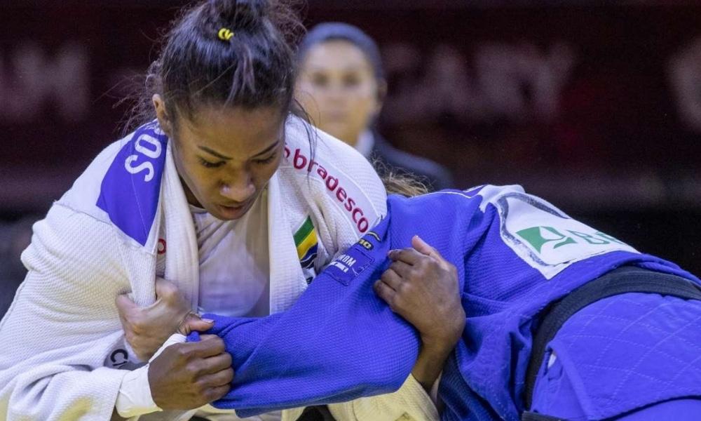 World Masters de judô - Ketleyn Quadros - Maria Portela